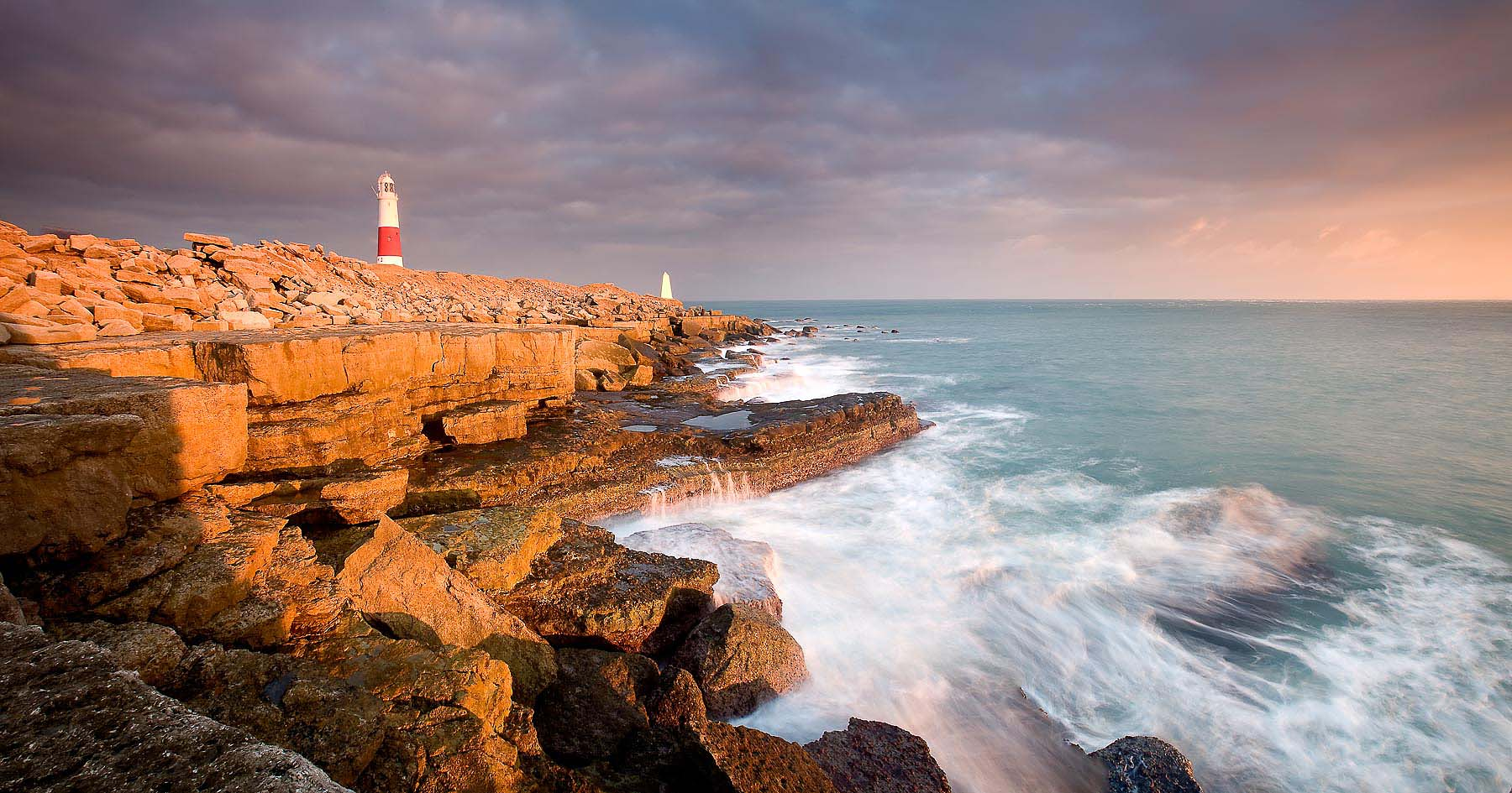 Portland-Bill-Lighthouse-Dusk-Dorset-Landscape