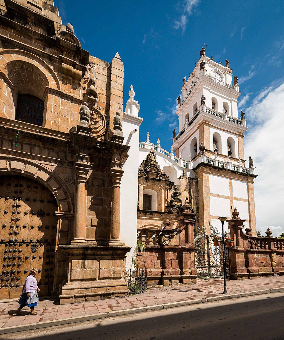 cathedral-exterior-architecture-sucre-bolivia-latin-america