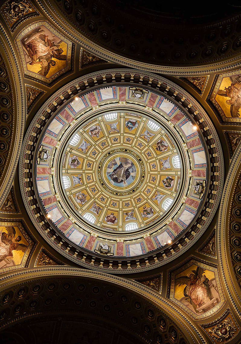 ceiling-st-stephens-basilica-szent-istvan-architecture-budapest-hungary