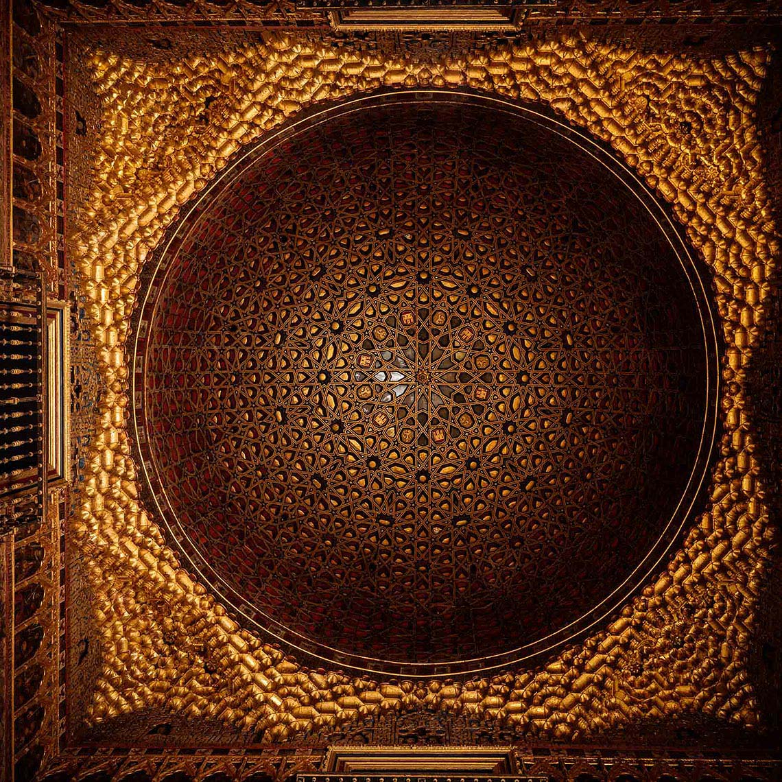 ornate-ceiling-royal-alcazar-palace-interior-architecture-seville-andalucia-spain