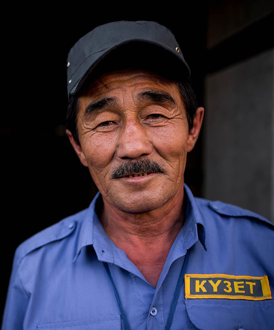 portrait-man-security-guard-travel-photography-almaty-kazakhstan