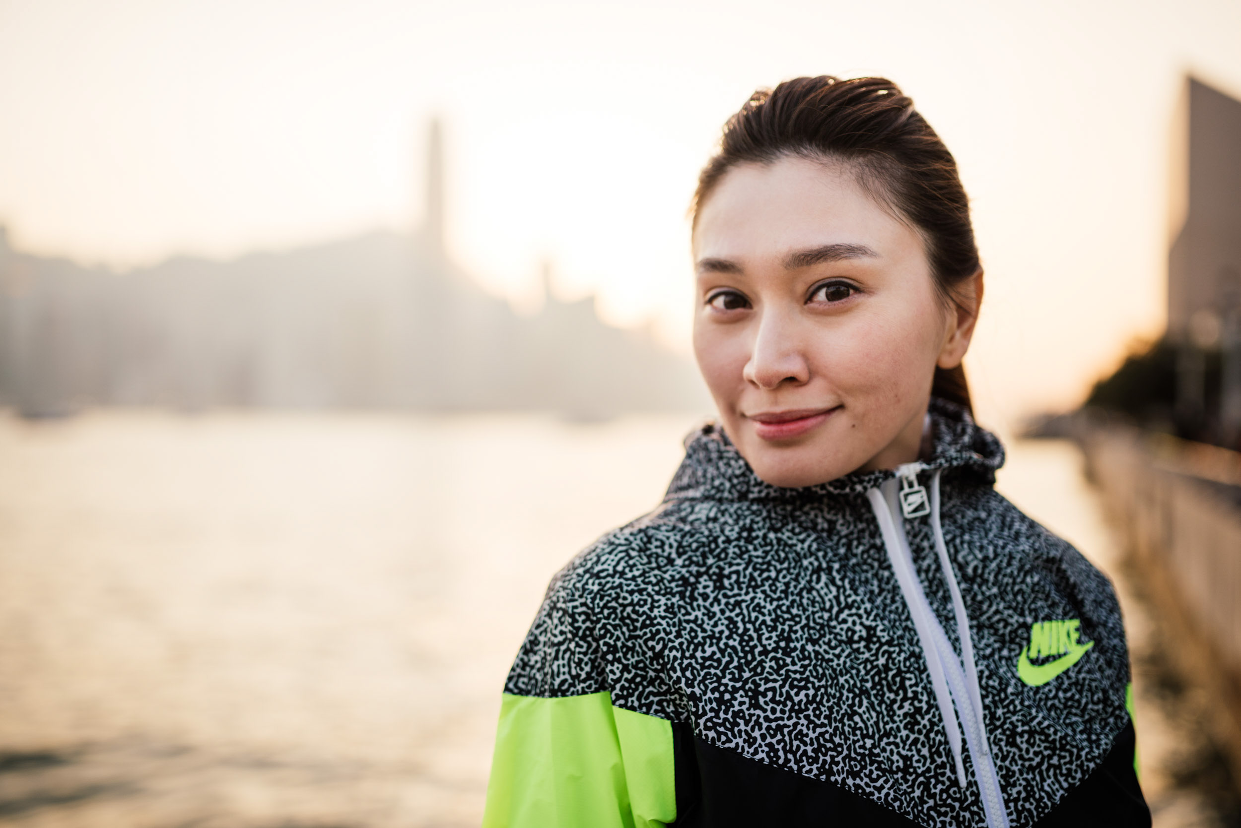 portrait-woman-tsim-sha-tsui-kowloon-nike-hong-kong-china