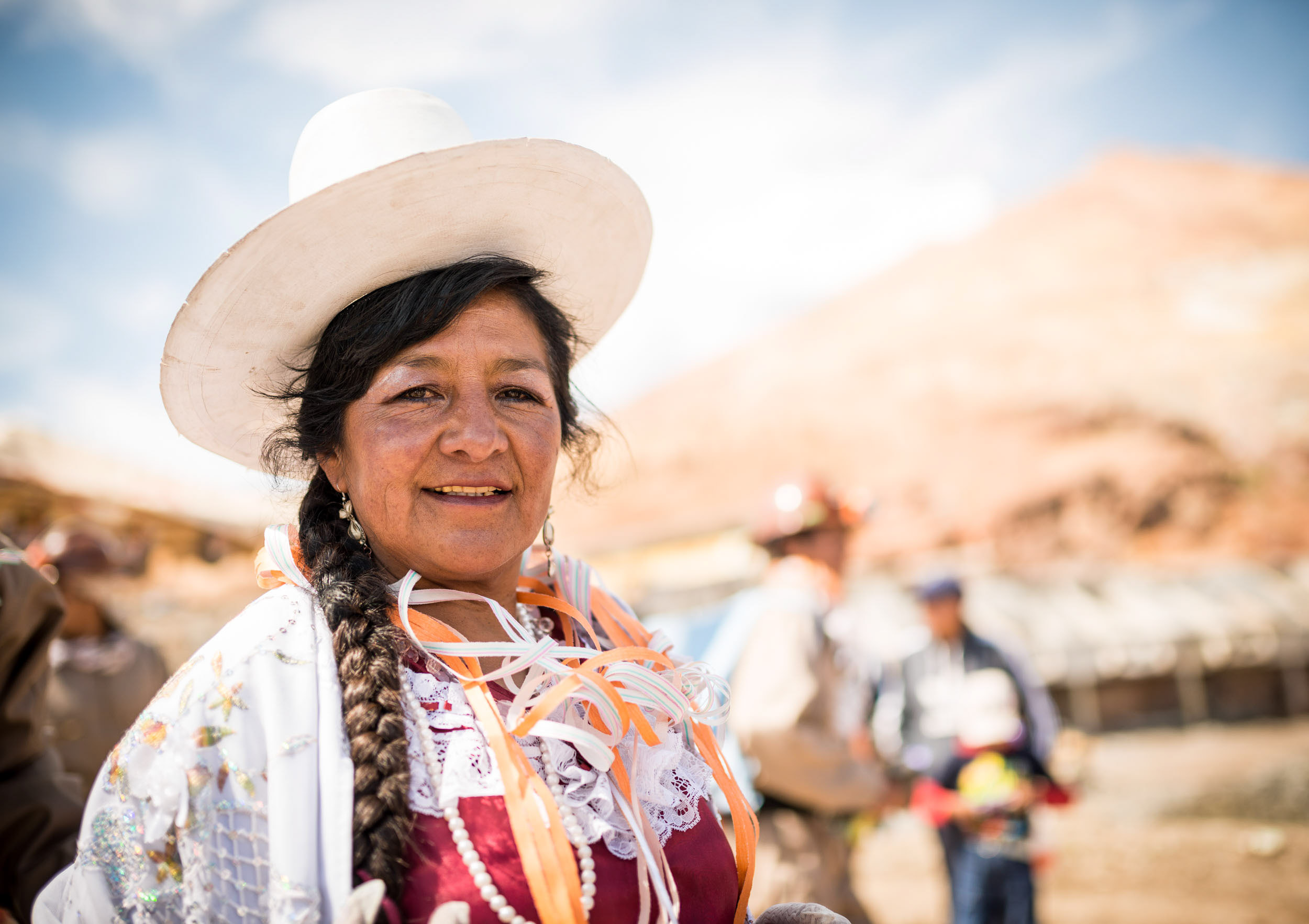 traditional-miners-carnival-potosi-portrait-woman-hat-bolivia